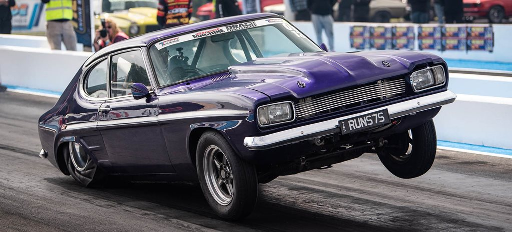 Mark Whitla's big-block 1971 Ford Capri - Drag Challenge profile