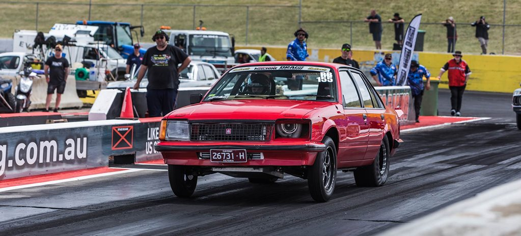 Kai McPhee's turbo LS-powered VC Commodore - Drag Challenge profile