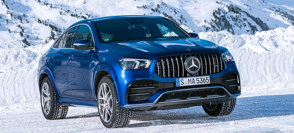 2020 Mercedes-AMG GLE53 4MATIC Coupe International Drive