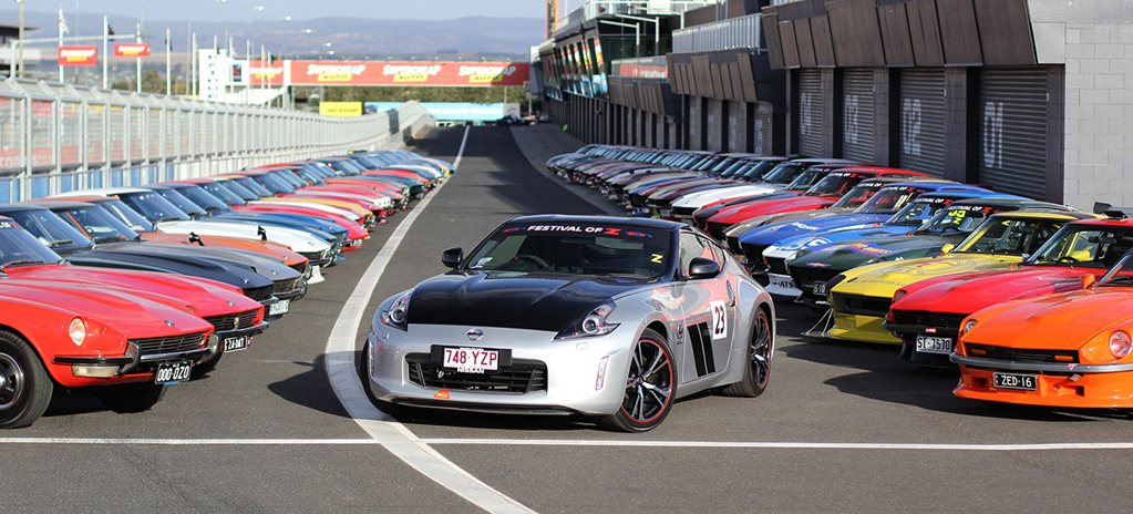 Nissan Celebrates 50 Years of Z Cars at Bathurst