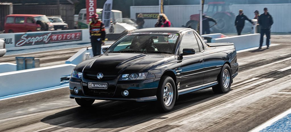 Matt Carey's blown 2006 Holden VZ SS ute - Drag Challenge profile