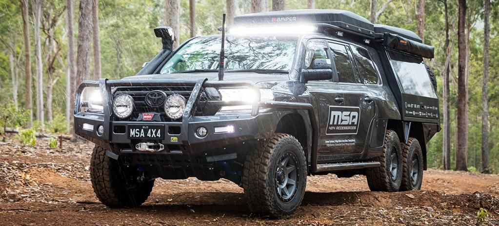 MSA 4x4 Toyota LandCruiser 200 6x6 Project Super Cruiser review feature