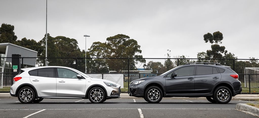 Ford Focus Active vs Subaru XV 2.0i-L comparo