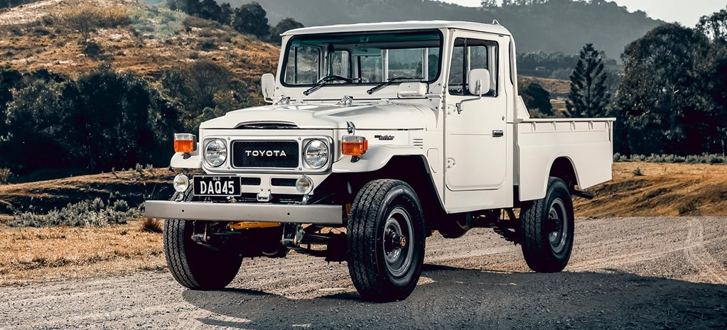 Restored custom 1984 Toyota LandCruiser FJ45 review feature