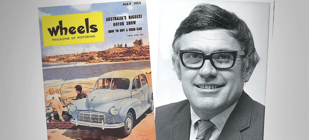 Athol Yeomans - Wheels' founding editor