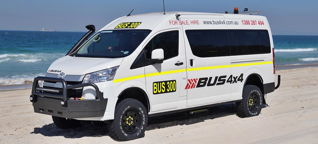 Bus 4x4 Toyota HiAce Commuter 4x4 conversion news