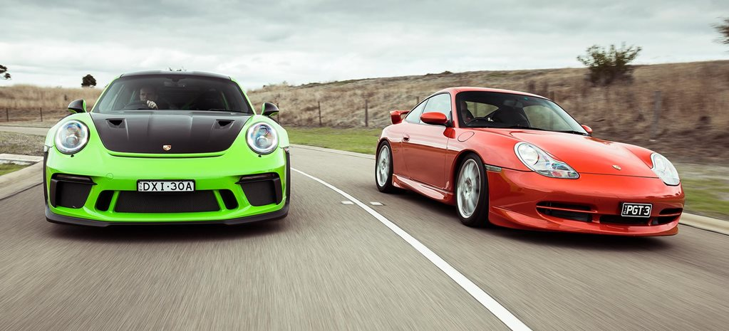 Porsche 996 911 GT3 vs Porsche 991 911 GT3 RS comparison feature