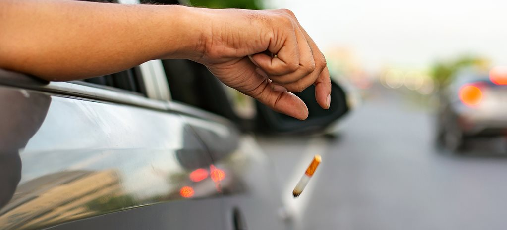 Cigarette tossers to cop up to $11K fine, 10 demerit points