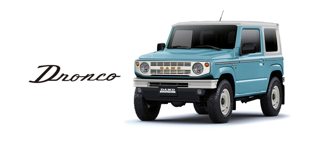 Suzuki Jimny Ford Bronco DAMD body kit news