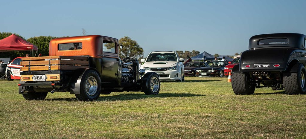 SlowCase car show on this weekend in McLaren Vale