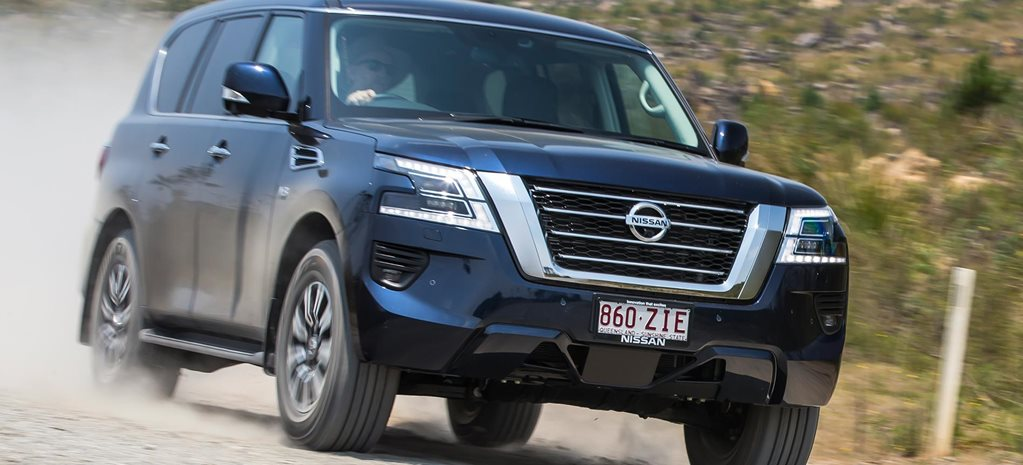 Nissan Patrol Ti review feature