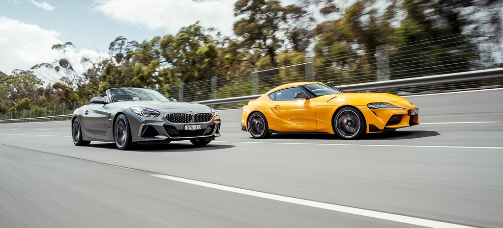 Toyota Supra GTS vs BMW Z4 M40i: spot the difference