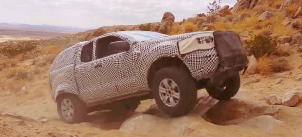 Ford Bronco SUV prototype testing off-road California news