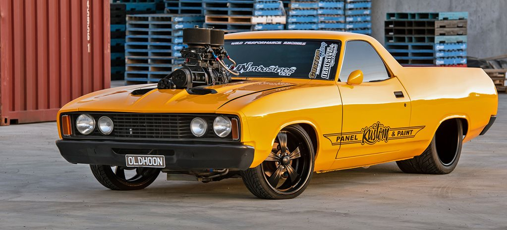 Peter Flint's Ford XC Falcon ute - OLDHOON
