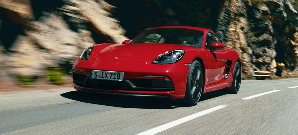 Porsche 718 Cayman Boxster GTS 4.0 revealed news