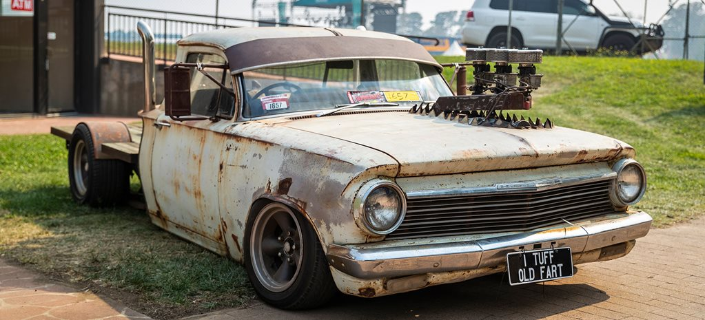 Blown six-cylinder EH Holden 'One Tonner' – Summernats 33