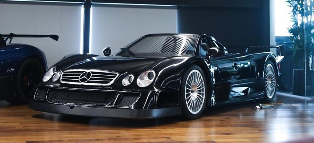 Black Mercedes-Benz CLK-GTR Roadster in Melbourne news