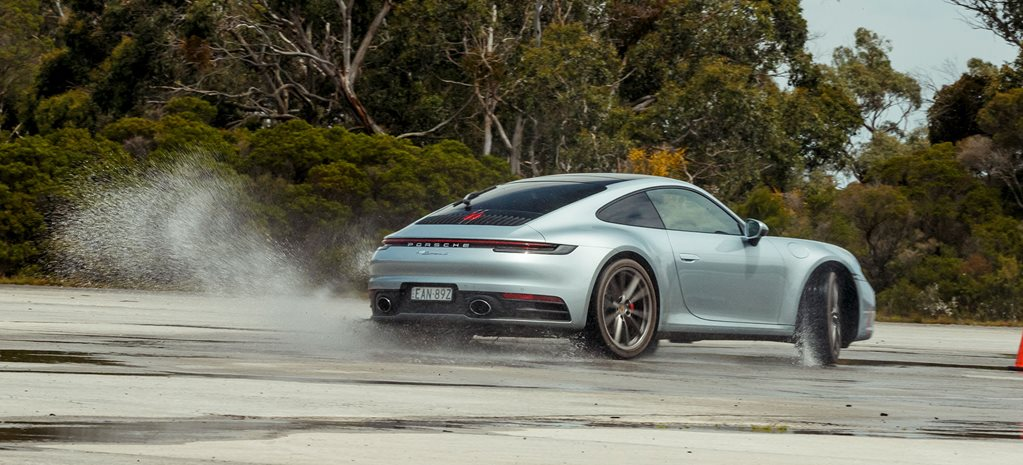 Porsche 992 911 running for 2020 Wheels Car of the Year