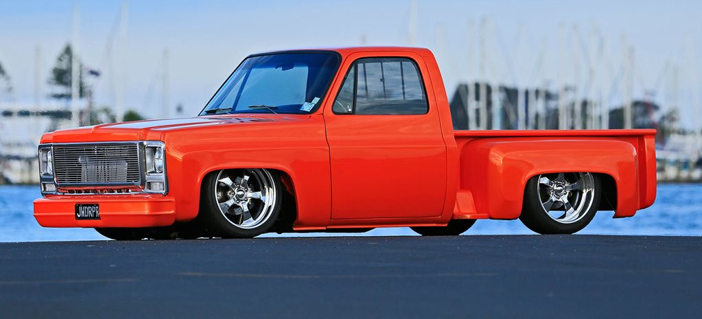 Chevrolet ZZ 383-powered 1979 C10 Stepside pick-up