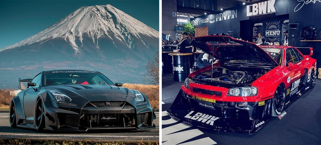Liberty Walk Nissan GT-Rs