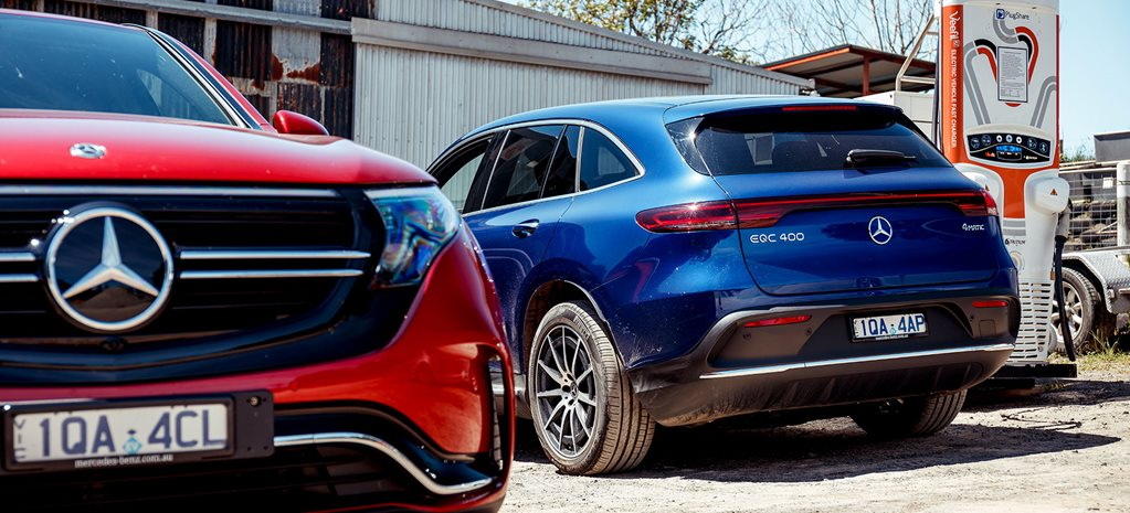 2020 Mercedes Benz EQC Wheels Car of the year final