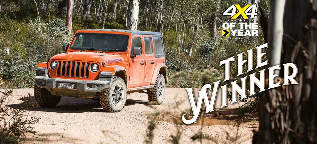 Jeep Wrangler Rubicon wins 2020 4X4 Of The Year award