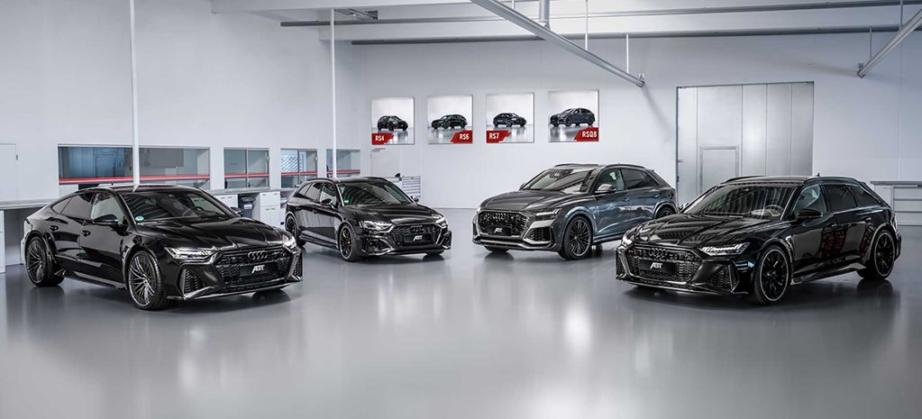 2020 Audi RS models tuned by ABT to 515kW