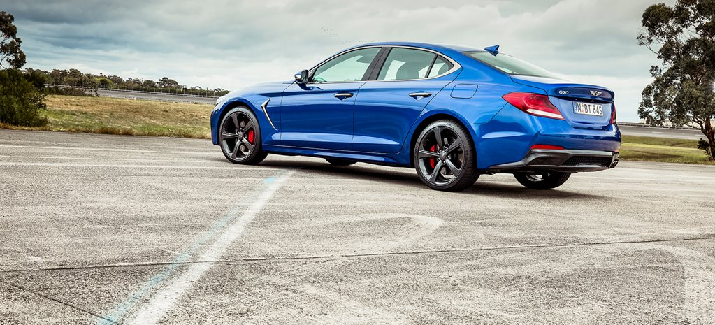 2020 Genesis G70 at Wheels Car of the Year