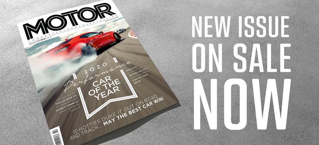 MOTOR Magazine February 2020 issue preview feature
