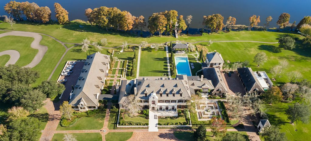 This mansion comes with a full race track