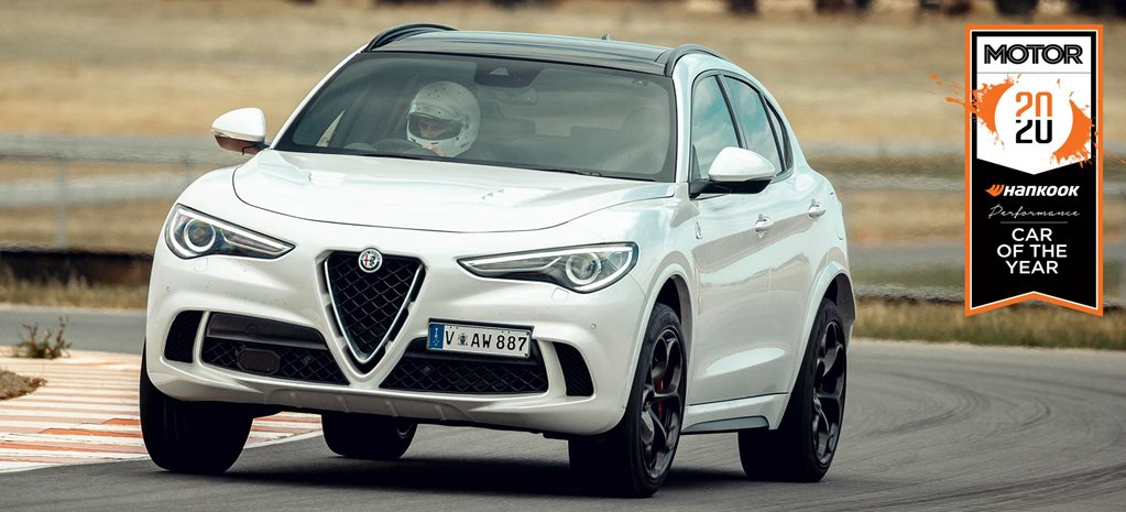 Alfa Romeo Stelvio Q Performance Car of the Year 2020 results feature