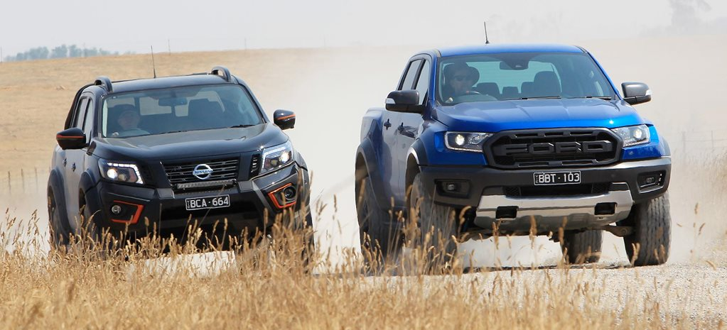 Ford Ranger Raptor vs Nissan Navara N-TREK Warrior comparison feature