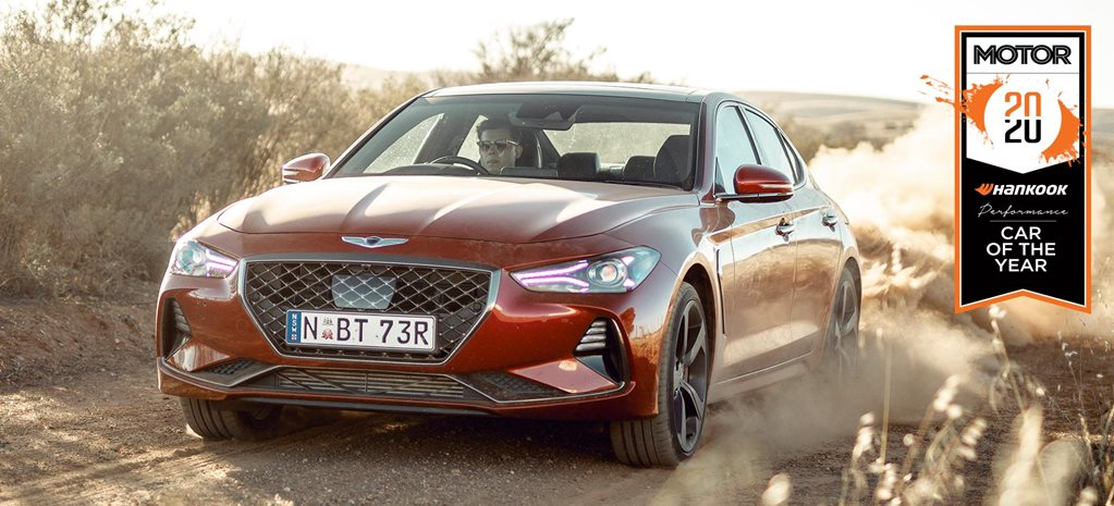 Genesis G70 Performance Car of the Year 2020 results feature