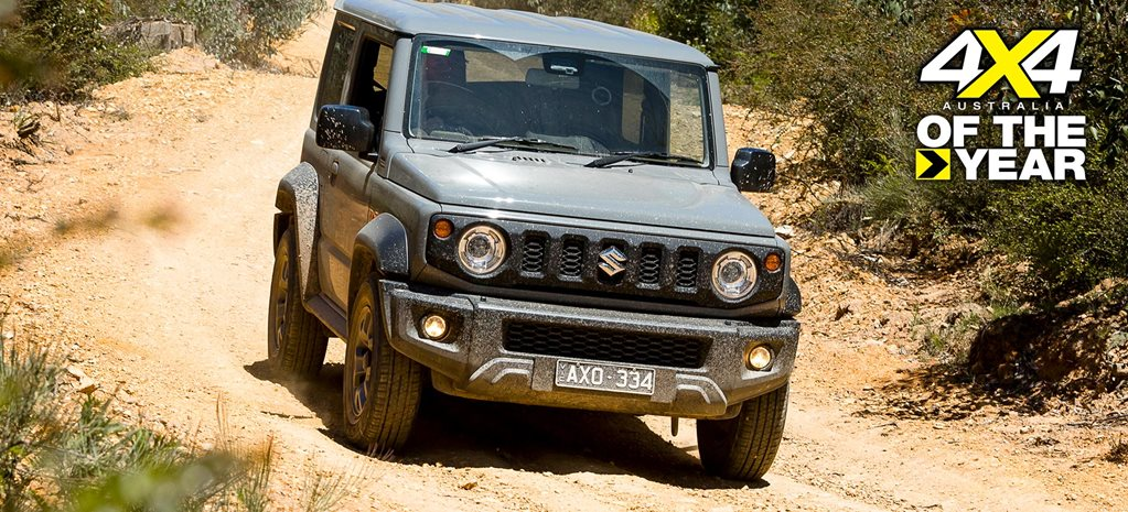 2020 4X4 Of The Year Suzuki Jimny review feature