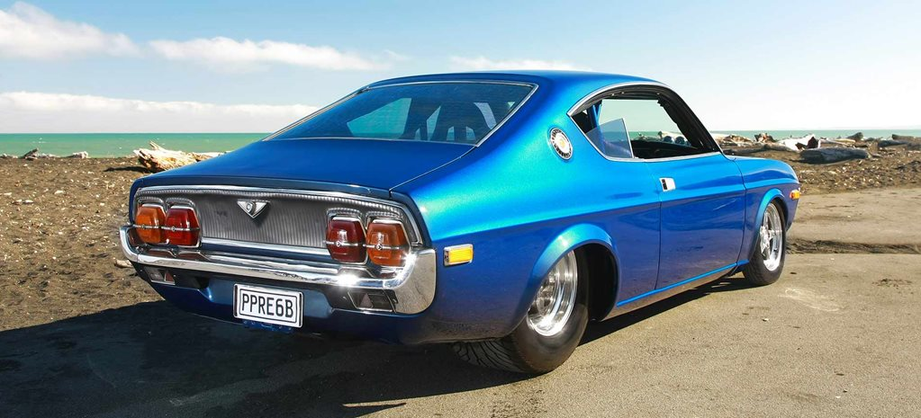 PPRE six-rotor-powered Mazda RX-4