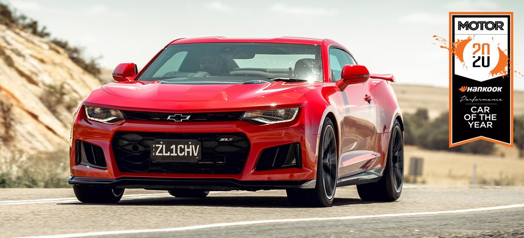 Chevrolet Camaro ZL1 Performance Car of the Year 2020 results feature