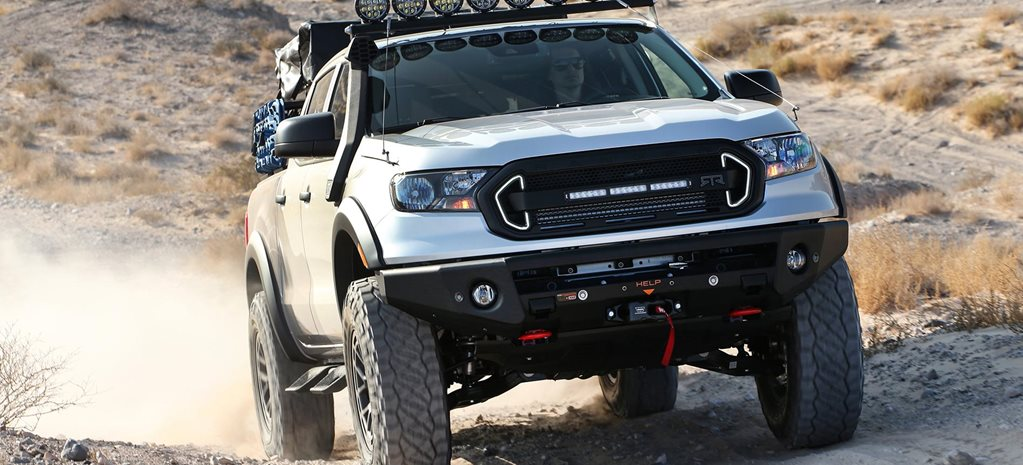 RTR Ford Ranger Rambler concept feature