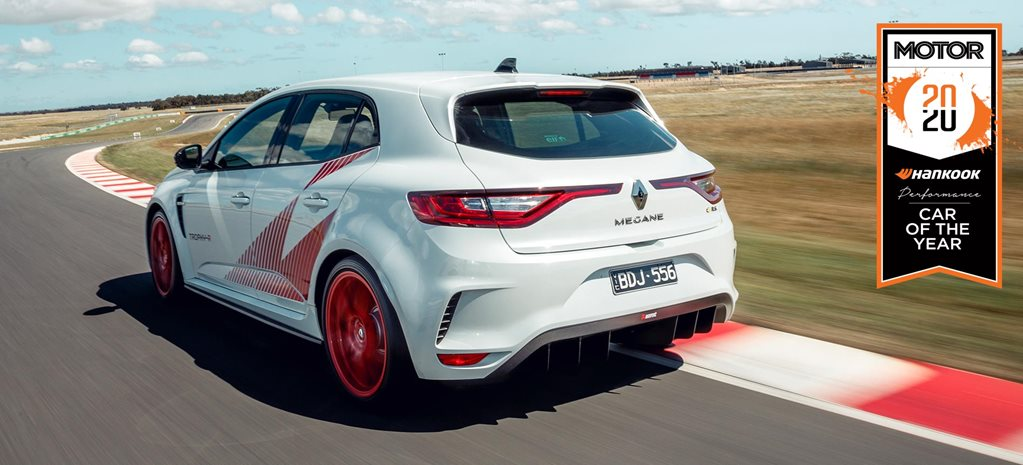 Renault Megane Trophy R Performance Car of the Year 2020 results feature