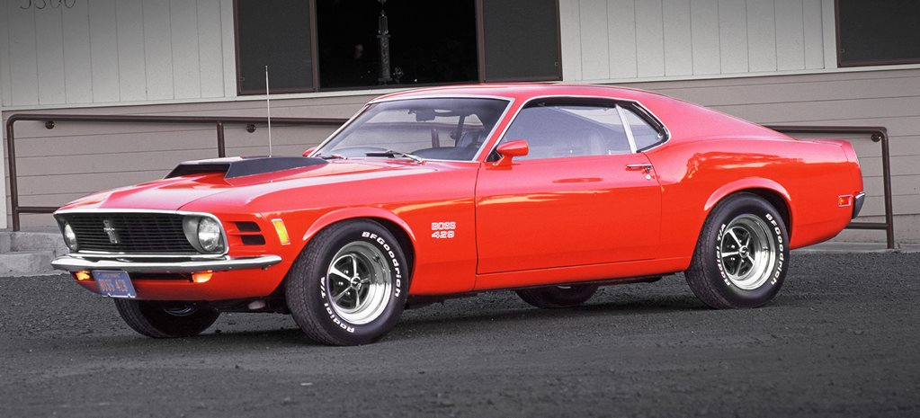 History of the Ford Mustang Boss 429, 302, 351