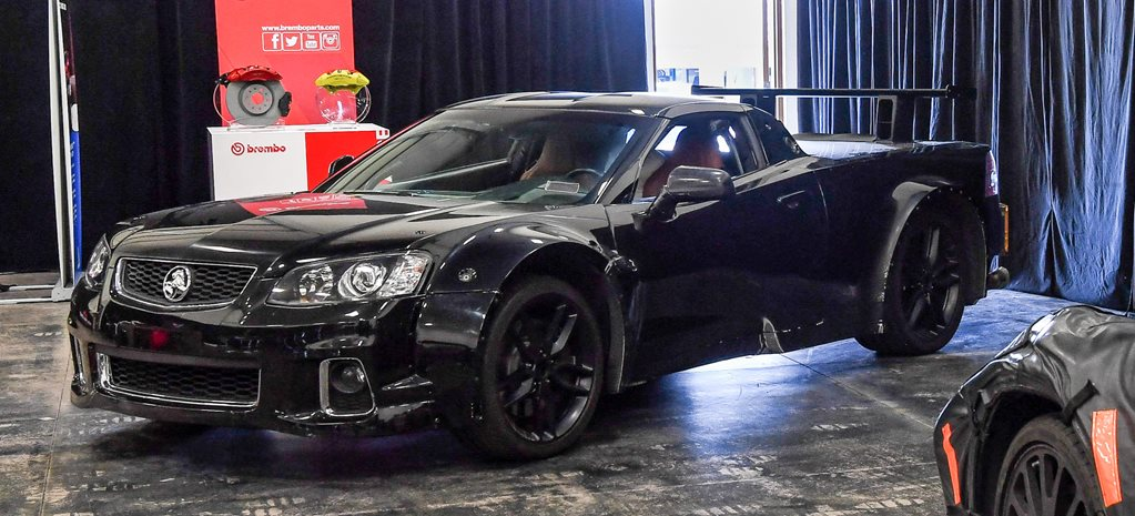 Holden ute takes centre stage at Corvette C8 launch