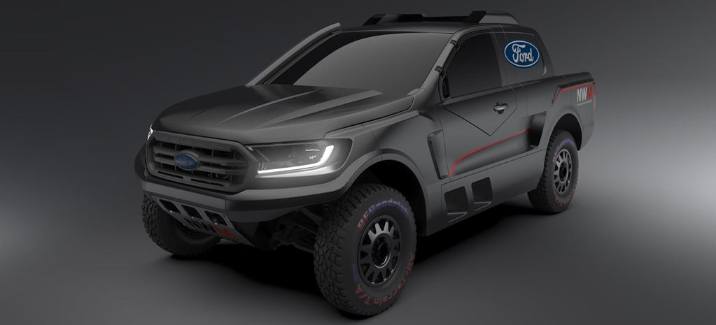 Ford F-150 Raptor-powered Ranger rally raid ute revealed news