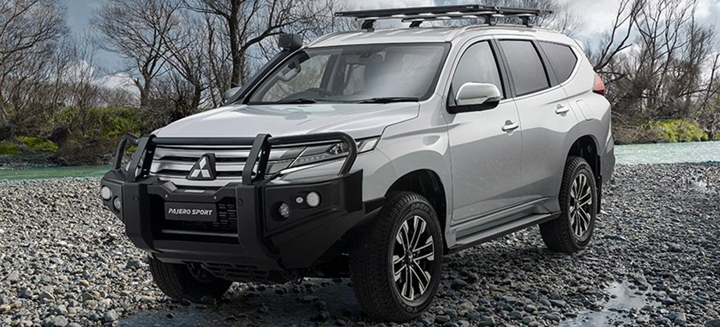 Mitsubishi Pajero Sport off-road accessories news