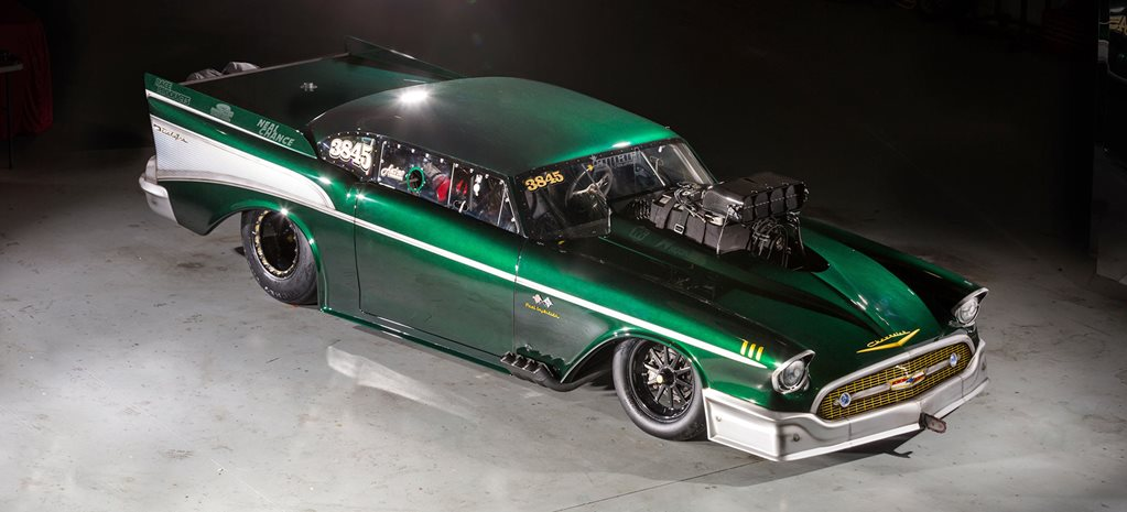 Wade Wagstaff's 3100rwhp Outlaw Radial 1957 Chev gets even tougher