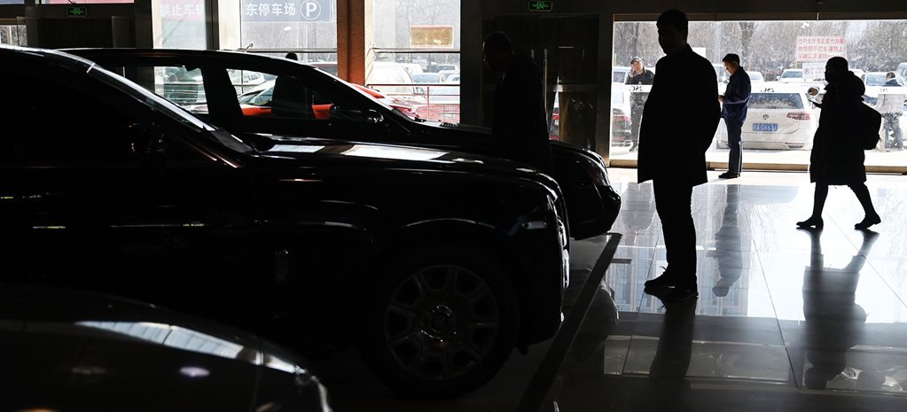 Chinese car sales plummet due to Coronavirus