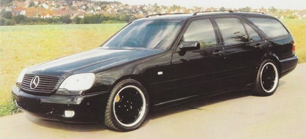 Mercedes-Benz custom Zonda-powered S-Class wagon