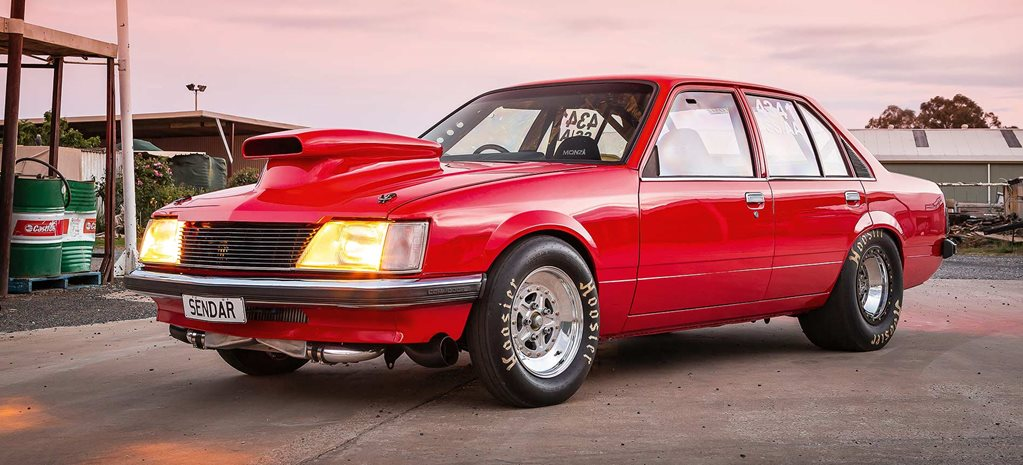 Shed-built, eight-second twin-turbo 1982 Holden VH Commodore