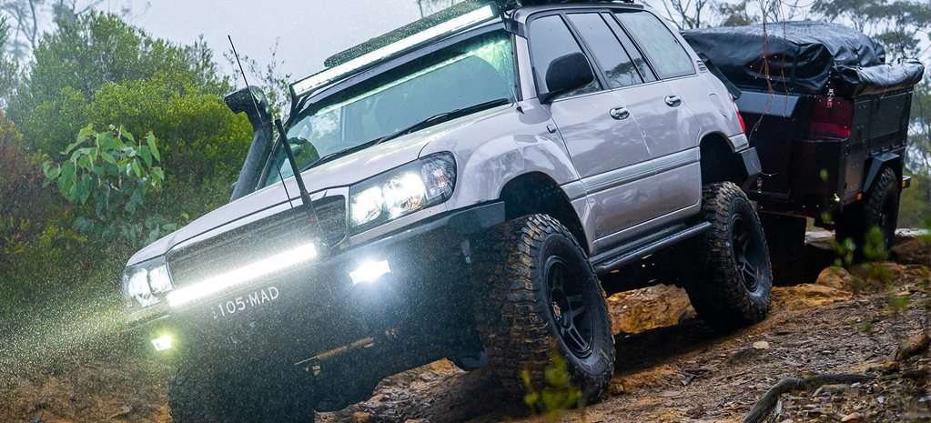 Custom adventure Toyota LandCruiser 105 Series review feature