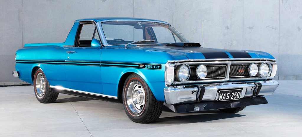 1971 Ford XY Falcon 500 GT replica ute