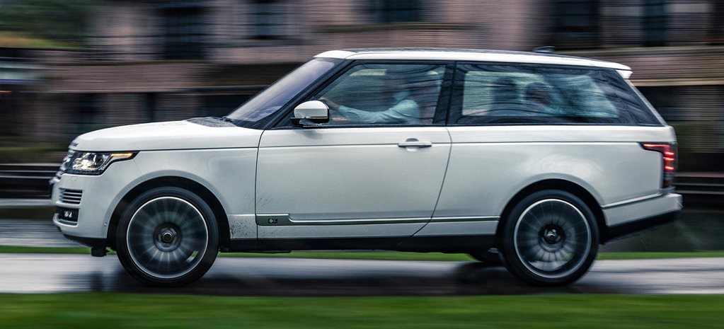 Niels van Roij Design Range Rover Adventum coupe revealed news