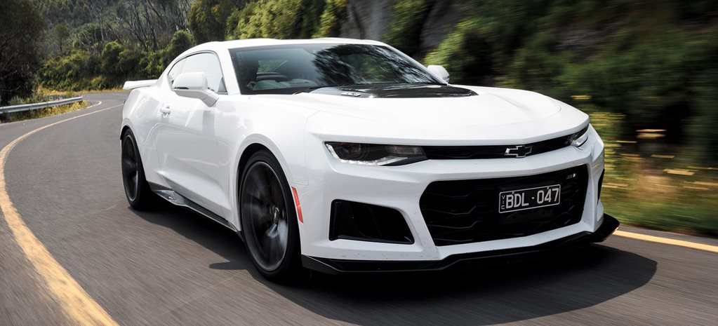 Chevrolet Camaro ZL1 manual review feature